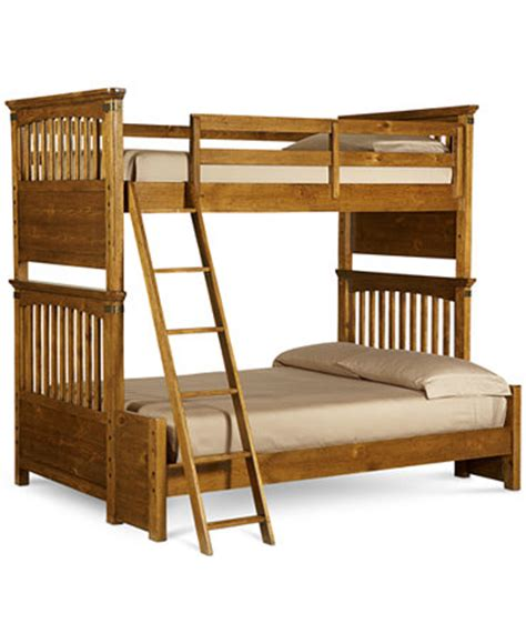 macys bunk beds hopefield twin over full kids bunk bed furniture macy s