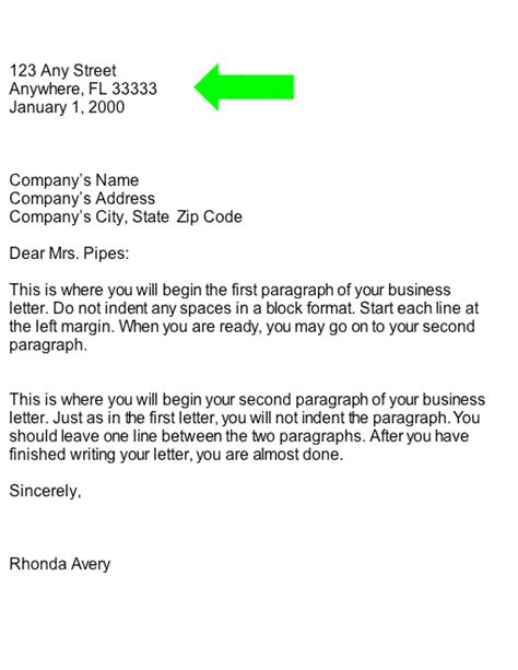 Business Letter Format Heading Collection Business Letter Heading Part Of Business Letter