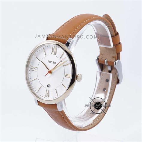 Jam Tangan Wanita Merk Fossil Type Es 3737 Baterai 2 harga sarap jam tangan fossil jacqueline es3737 brown leather original
