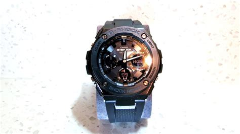 Casio G Shock Gst S100g 1b Gshock Gst100g 1b Original Bergaransi casio g shock gst s100g 1b black review