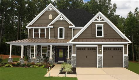 Rancher Style Homes exterior color scheme not our actual home but a sample