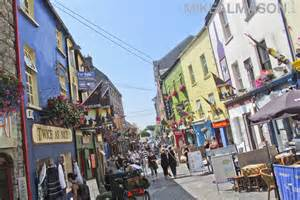 Row Of Houses In San Francisco - an afternoon in galway city ireland just cherished