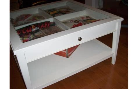 i a display coffee table from ikea