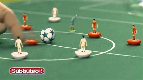 subbuteo tavolo giochi preziosi subbuteo uefa chions league