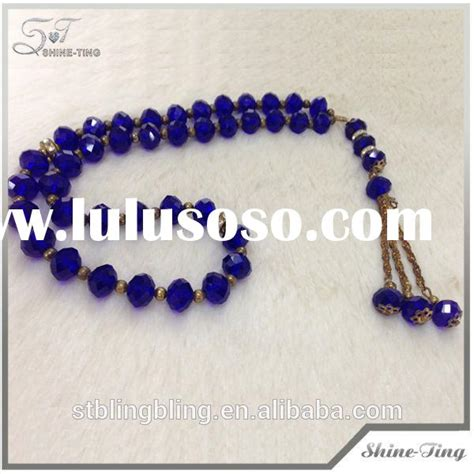 muslim beads tattoo 2014 yiwu new design muslim crystal rosary beads necklace