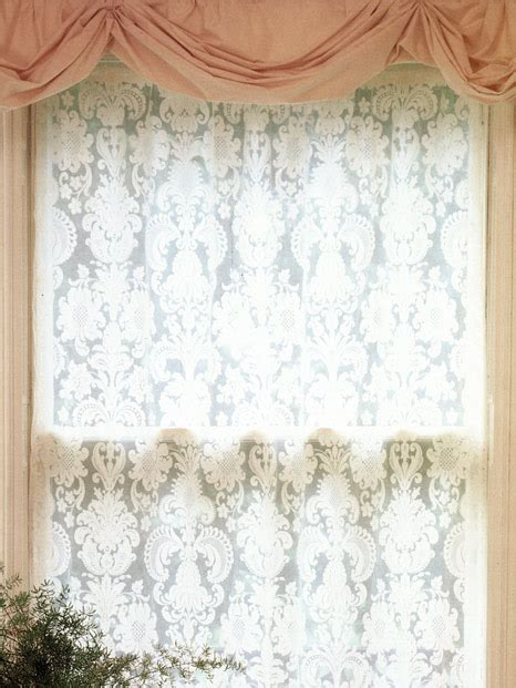 damask lace curtains diana our lace curtains highland lace company