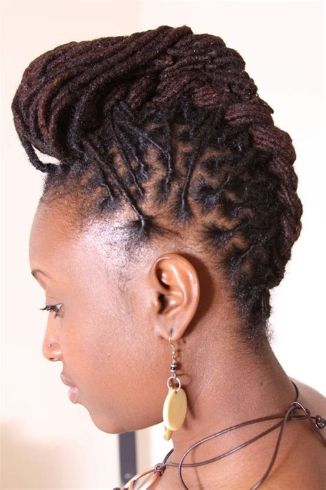 types of hairstyles for women dreadlocks updo hairstyles for women