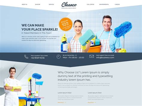 Cleaning Service Website Templates Cleaning Service Website Templates Best Website Templates Of Housekeeping Website Templates Free
