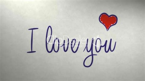 I love you message on newspaper: Royalty free video and