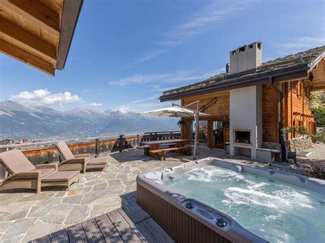 outdoor hängematte für 2 personen luxury chalet for 12 in of swiss alps with