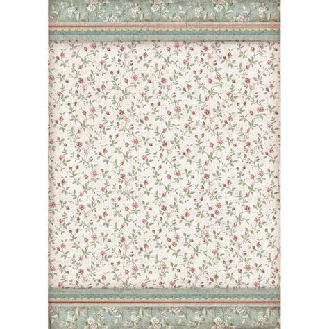 stamperia texture buds decoupage rice paper