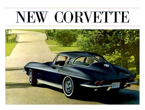 motor auto repair manual 1963 chevrolet corvette electronic valve timing corvette world articles 1963 corvette dealers sales brochure