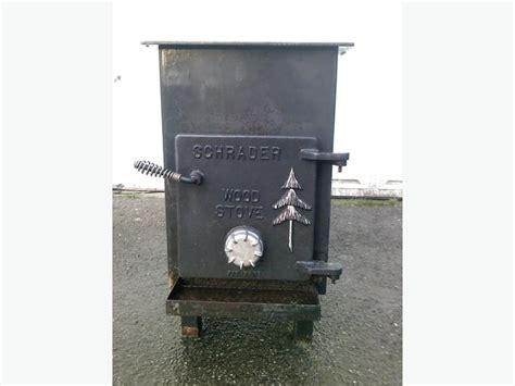 schrader free standing wood stove saanich