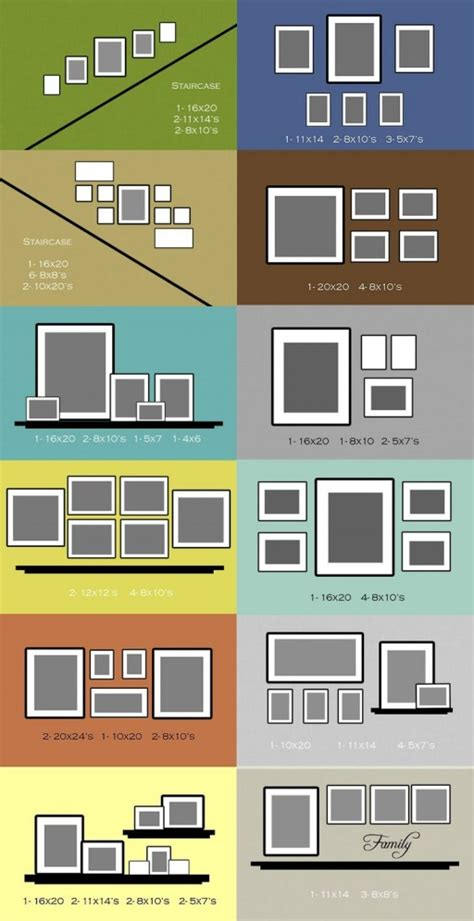 how to arrange how to arrange photo gallery frame wall layouts how to