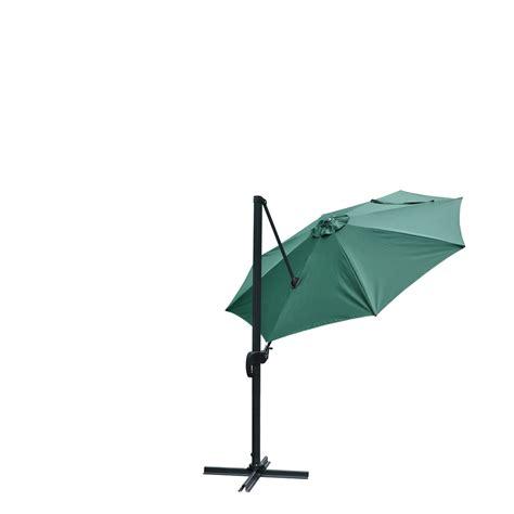 10 deluxe patio hanging roma offset umbrella outdoor