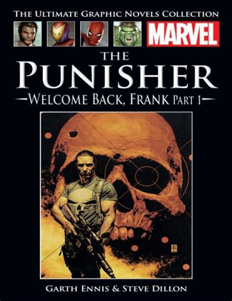 Punisher Welcome Back Frank Tp Marvel Comics the punisher welcome back frank part 1 marvel ultimate graphic novels collection 2016