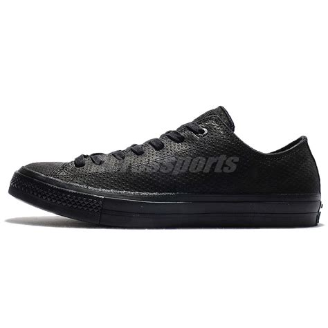 Chuck 2 Black Low converse chuck all ii leather low top