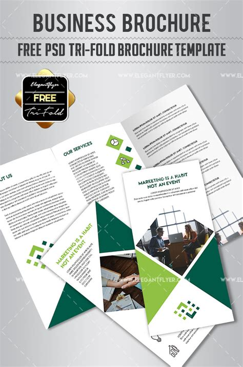 tri fold brochure examples business prodcut tri fold brochure