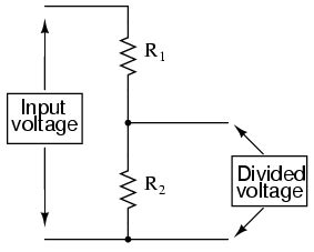 voltage divider one resistor lessons in electric circuits volume i dc chapter 6