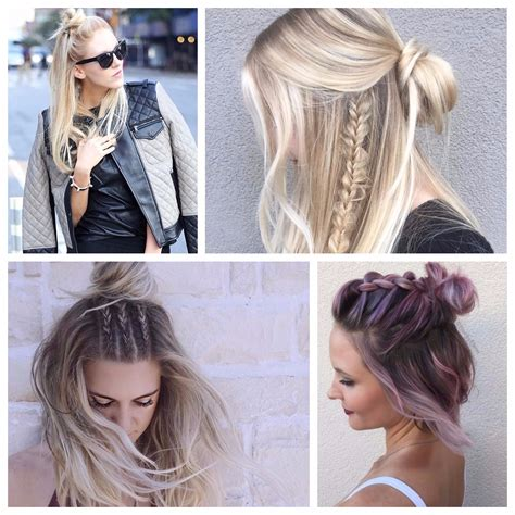 Half Up Half Hairstyles For Hair by 2017 Haircuts Hairstyles And Hair Colors