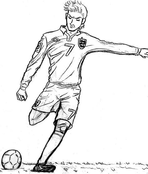 imagenes a lapiz de jugadores dibujo de beckham arte taringa