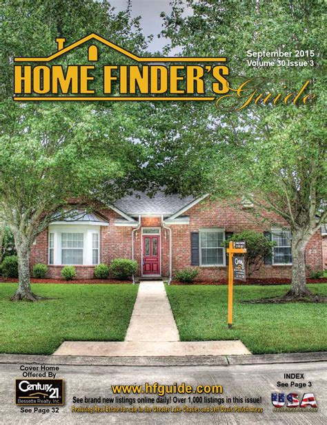 home finder s guide september 2015 issue by home finder