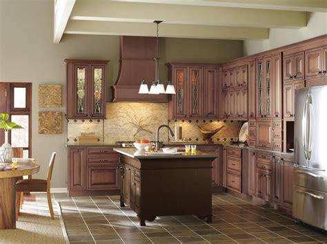 glazed cabinets out of style decora willshire door style on maple with cinnabar