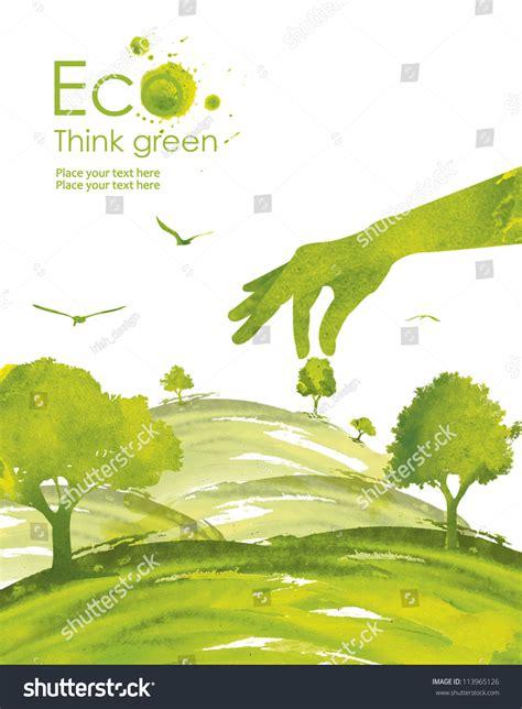 environmentally friendly trees illustration environmentally friendly planet green tree