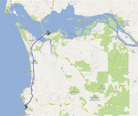 map of cannon oregon coastal adventure astoria to cannon