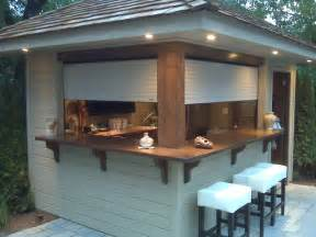 outdoor bar shutters on outdoors bar contemporary roller shades