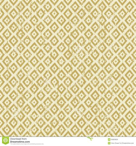 yellow diamond pattern seamless vintage worn out yellow diamond check geometry