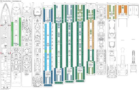 msc poesia cabine msc poesia deck plans diagrams pictures