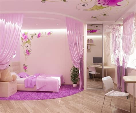 Pink Bedroom Design For A Little Princess Kidsomania