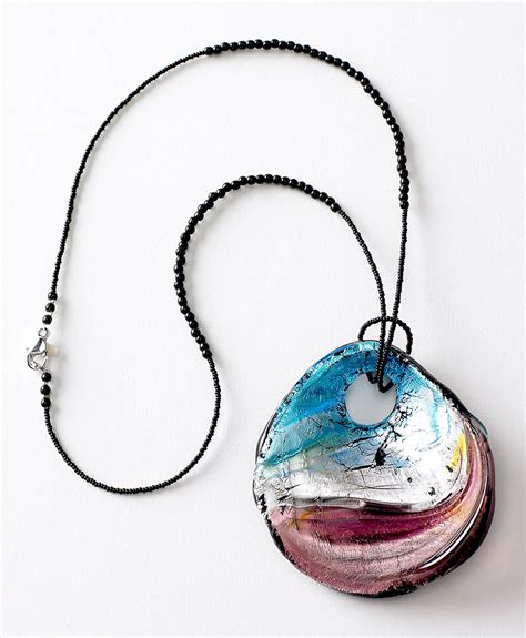 jewelry glass murano glass necklaces murano glass accessories shop