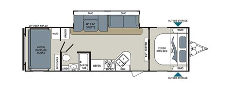 Dutchmen Aerolite Floor Plans | aerolite rv floorplans and pictures aerolite travel trailers