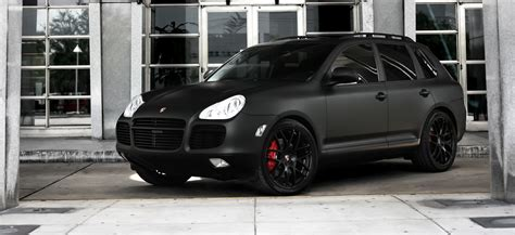 porsche cayenne matte black customized porsche cayenne turbo s exclusive motoring