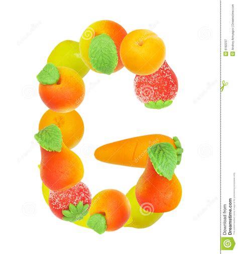 g fruit alphabet de fruit la lettre g illustration stock