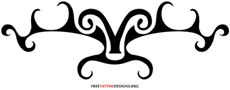 aries tribal 35 aries tattoos ram designs