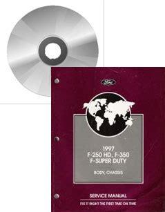 1997 Ford F 250 Hd F 350 Amp F Super Duty Service Manual On
