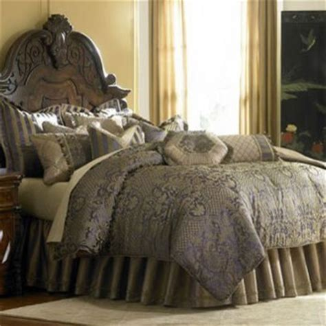 What Size Is A King Comforter by Aico Furniture Charisma Royale King Size Bedding