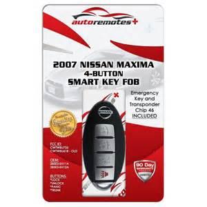 Nissan Maxima Key Programming 2007 Nissan Maxima Keyless Entry Remote Cwtwbu735