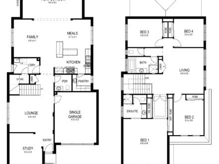 small lot house floor plans small modern home design houses cool small houses small single storey house plans