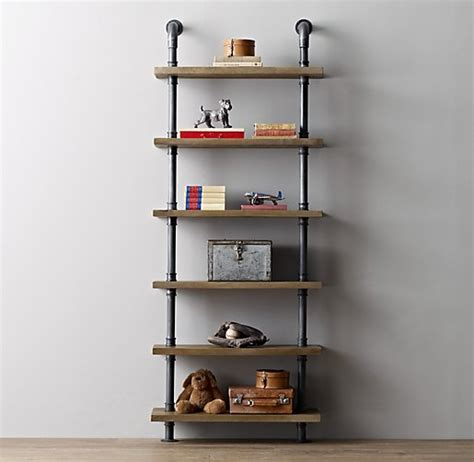 iron pipe shelving industrial pipe shelving
