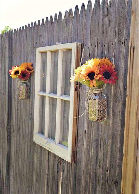 beautiful garden fence decorations homemydesign