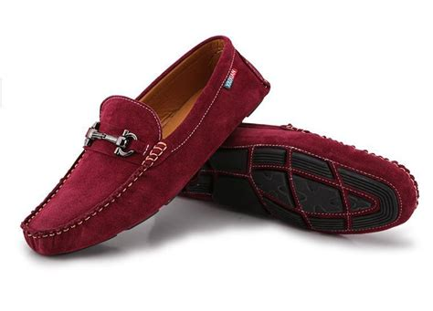 mens burgundy loafers 2015 new arrival driving shoes loafers genuine leather