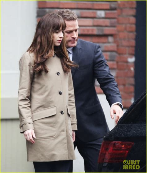 fifty shades darker filming in june dakota johnson jamie dornan film another fifty shades