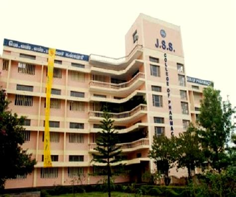 Mba Colleges In Ooty by Jss College Of Pharmacy Ooty The Nilgiris Admissions