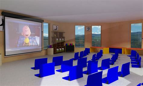 multi media room duplicable city center open source leed platinum eco