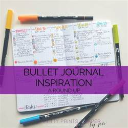 inspiration ideas bullet journal inspiration pretty prints paper
