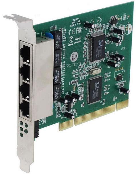 Switch Lan 4 Port Pci 32bit Port Lan 4 Port 10mbps 100mbps Ethernet Rj45 Network Switch Card In Network Cards